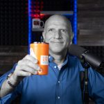 Stephen Krausse toasting your small business profit (with coffee) for Up and to the Right Episode 047